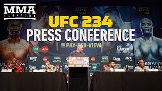 UFC 234 Pre Fight Press Conference   MMA Fighting