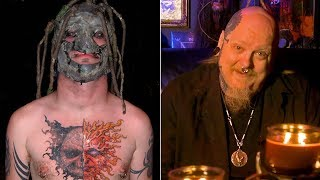 Paul Booth DARES Corey Taylor To Finish Chest Tattoo | Paul Booths Last Rites