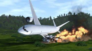 Обзор моих карт #2 ( Упавший самолет ! )