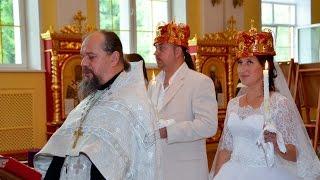 Венчание в церкви. Николай и Надежда
