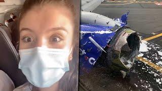 Mira lo que pasa cuando alguien fuma en el avión