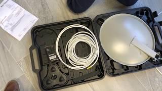 Aufbau der Antenne PremiumX PX35 und Astra 19.2 empfangen