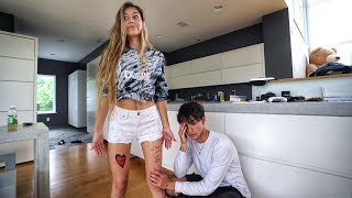 I GOT A TATTOO OF MY BOYFRIEND PRANK!