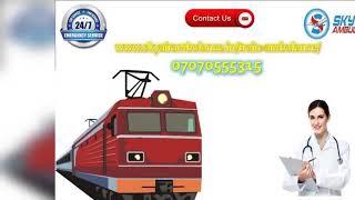 Pick Hi-tech CCU setup Facility in Rail Ambulance