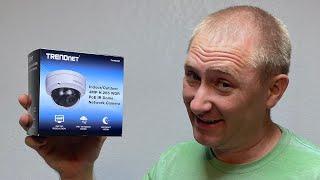 TrendNet PoE IR Dome Camera Setup & Install