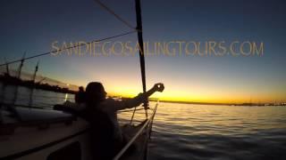San Diego Sailing Tours Sunset