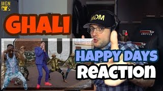 Ghali   Happy Days (Prod. Charlie Charles) REACTION