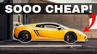 These Are The CHEAPEST Supercars You Can Buy