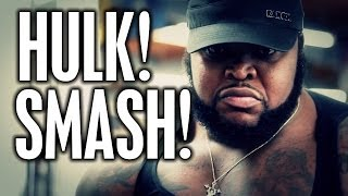 "HULK SMASH!  CT FLETCHER INTRODUCES ""DA HULK"""