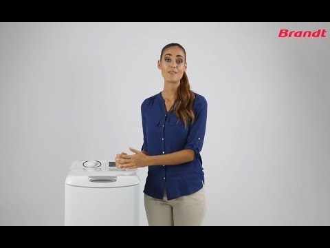 Cómo funcionan las lavadoras de carga superior Brandt