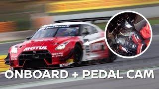 GT-R NISMO GT3 @ BARCELONA: PEDAL CAM + ONBOARD