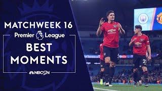 Best moments from Matchweek 16   Premier League   NBC Sports