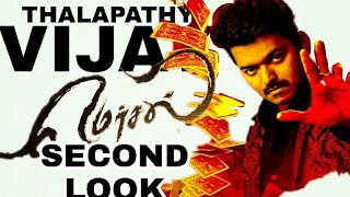 MERSAL |vijay61 |2nd look poster |AVM CREATION
