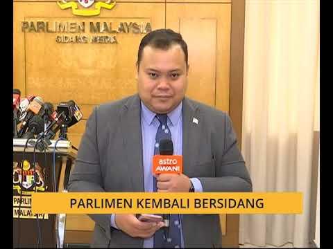 Parlimen kembali bersidang