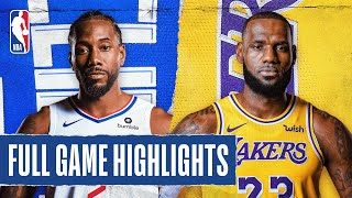 #TMPCheckout: CLIPPERS at LAKERS | FULL GAME HIGHLIGHTS | July 30, 2020