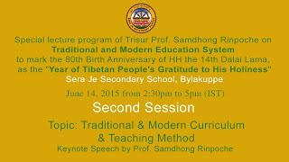 Eng: Session 2 Tropic: Traditional and Modern Curriculum and Teaching Methods
