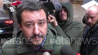 """Salvini: """"Juncker prevede il peggio per l'Italia, ma per fortuna non c'azzecca mai"""""""
