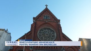 Pontifical Divine Liturgy in Brussels on the feast of the Holy Angels