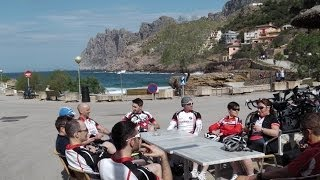 preview picture of video 'Majorca 2014 - Tyneside Vagabonds Cycling Club'