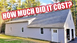 Paving The Dream Garage + Total Cost As Promised / FINAL EPISODE!