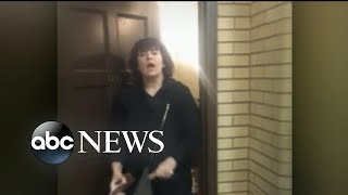White Yale student calls police on black coed sleeping in a dorm's common area - Video Youtube