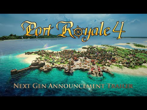 Annonce new-gen de Port Royale 4