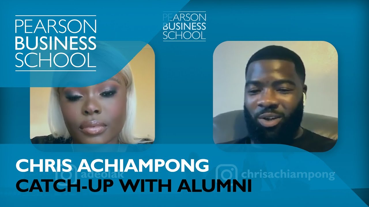 Catch-Up with Alumni: Chris Achiampong