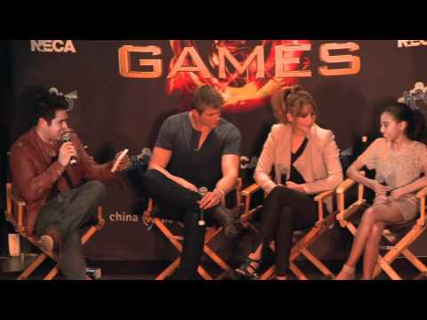 The Hunger Games - Cast Appearance 3/8/12 - Westfield Broward