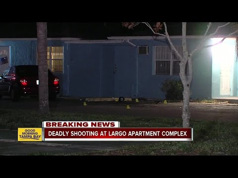 Man gunned down in Largo apartment complex's parking lot