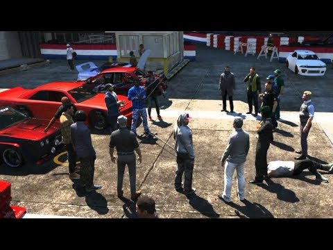 Grand Theft Auto V Walkthrough - ARRESTED and Sent to Jail!! GTA 5
