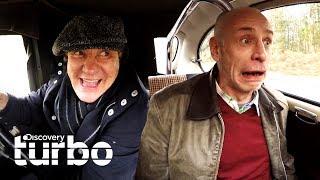 4 momentos engraçados com Brian | Carros alucinantes com Brian Johnson | Discovery Turbo Brasil