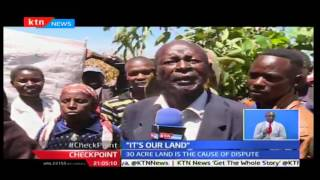 CheckPoint: KDF soldiers accused of torturing squatters in a disputed piece of land at Maili Tisa, E