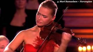 20 Beautiful Female Classical Violinists