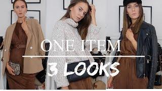 1 Item 3 Looks | Midi Dress