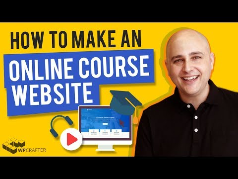How To Make An Online Course Website With WordPress Using ...