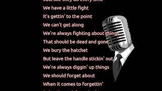 Garth Brooks - We Bury the Hatchet (lyrics)