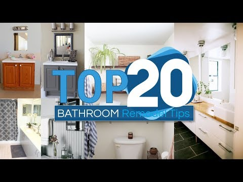 20 Bathroom Remodel Tips And Tricks That Won't Cost You A Fortune