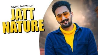 Jatt Nature | (Full HD) | Sidhu Sarpanch | New Punjabi Songs 2020 | Jass Records