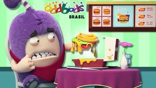 Oddbods | LOUCO POR COMIDA | Desenho Infantil