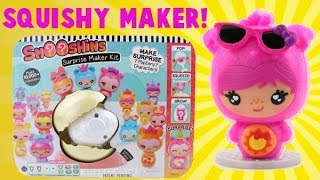 Squishy Maker! Smooshins Surprise Squishy Toy Maker!