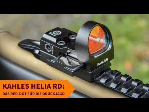 kahles: Praxistest und Video: KAHLES Helia RD. Was zeichnet das neue Leuchtpunktvisier für die Bewegungsjagd aus?
