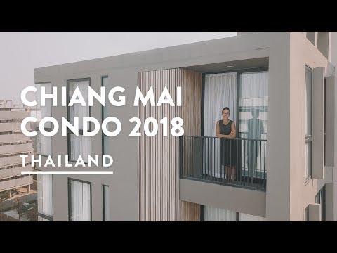 $700 LUXURY CONDO - CHIANG MAI APARTMENT RENT   Thailand Vlog 118, 2018   Digital Nomad Chiangmai