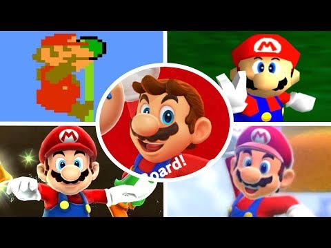 Download Evolution of Level Endings in Mario Games (1985-2017)