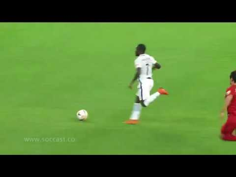 Video: Watch Frank Acheampong 5th goal of the season for Chinese outfit