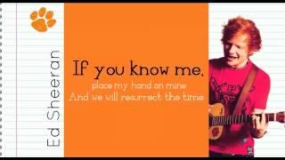 Ed Sheeran - Billy Ruskin Lyrics