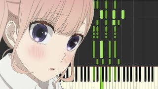 Koi to Uso/恋と嘘 ED - Can't you say (piano arrangement)