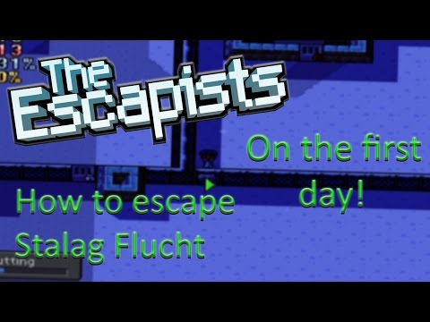 The Escapists - Stalag Flucht 1 Day Escape (Tutorial)