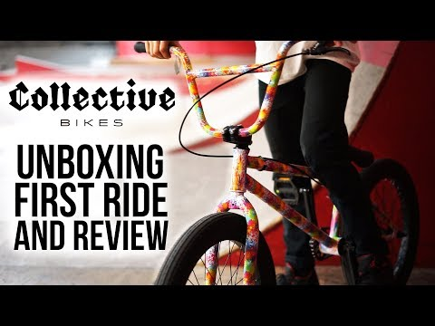 Collective C1 BMX Bike: Unboxing, Review and First Ride w/ Callum Bibby | Rampworx Skatepark