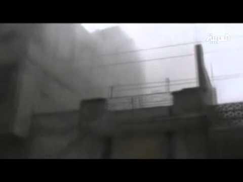 قصف عنيف على حي البياضة في حمص