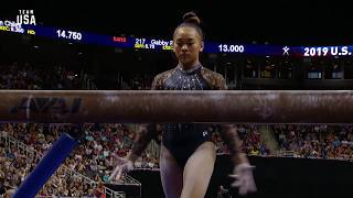 Sunisa Lee On Beam | Champions Series Presented By Xfinity